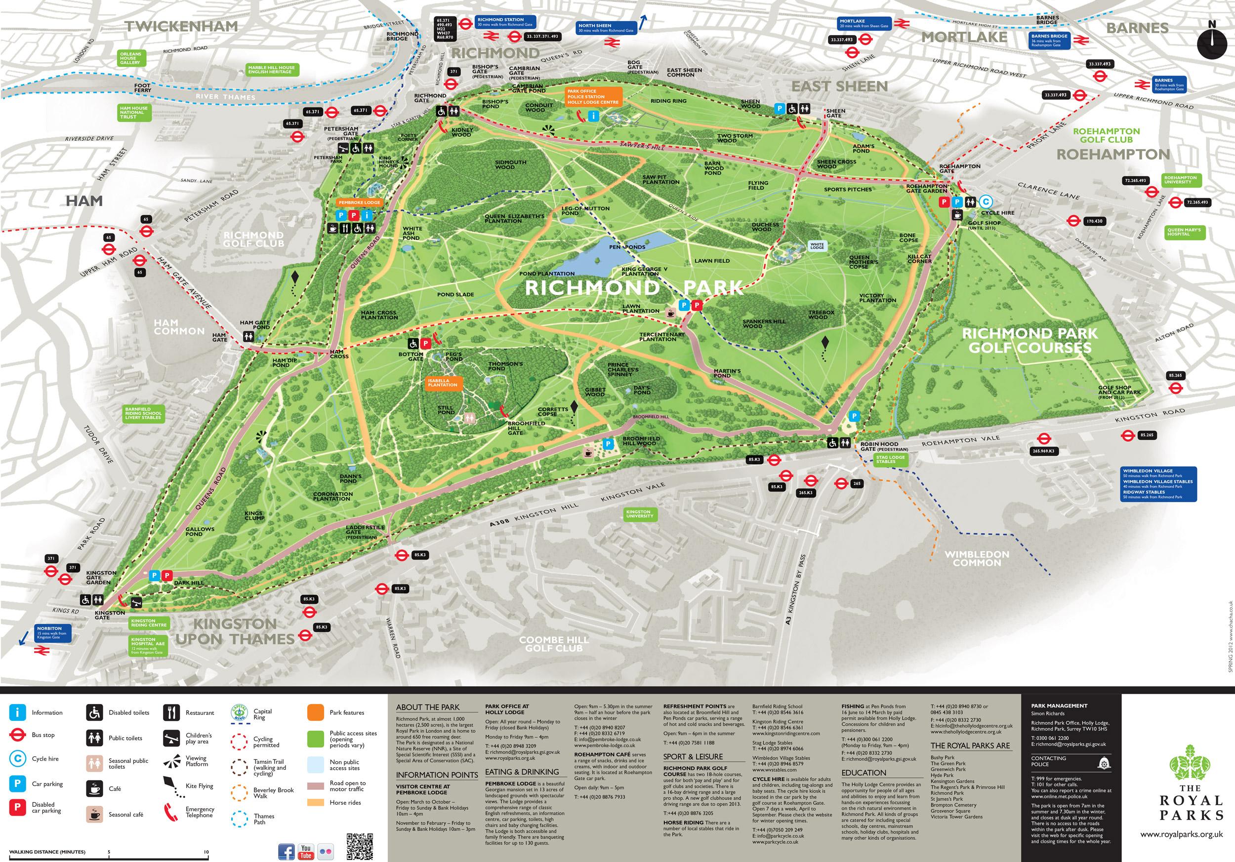 Richmond Car Parks Map